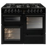 more details on Beko BDVF100K Dual Fuel Range Cooker - Black.