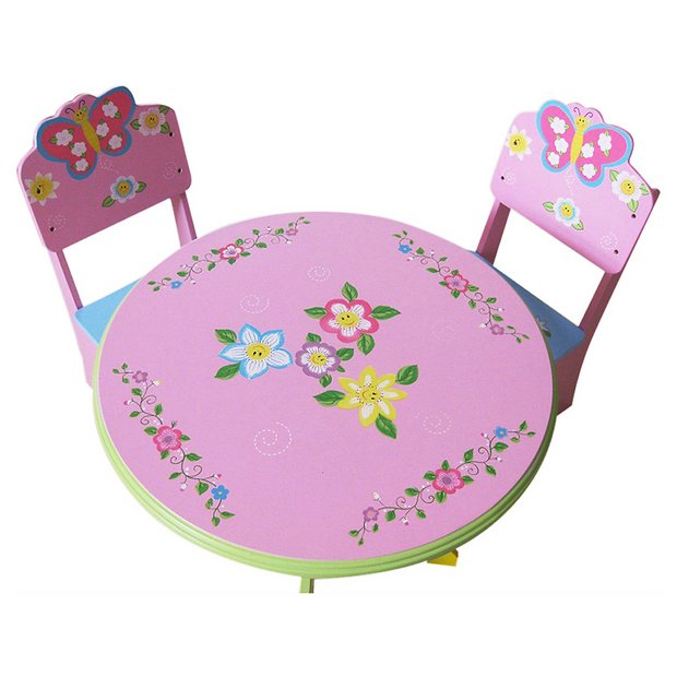 Argos Childrens Garden Table And Chairs: Buy Liberty House Toys Butterfly Table And Chair Set At