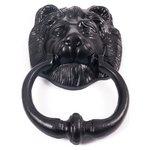 more details on Black Iron Lion Door Knocker.