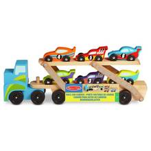 Melissa & Doug Jumbo Race Car Carrier