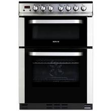 Servis DC60SS Ceramic Double Electric Cooker Stainless Steel