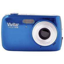 Vivitar S126 16MP 4x Zoom Compact Digital Camera - Blue