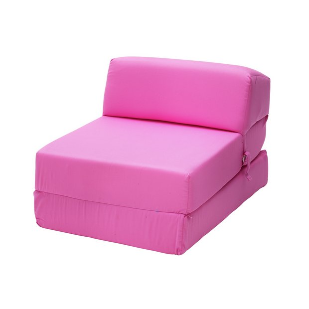 buy colourmatch flip out chairbed pink at. Black Bedroom Furniture Sets. Home Design Ideas