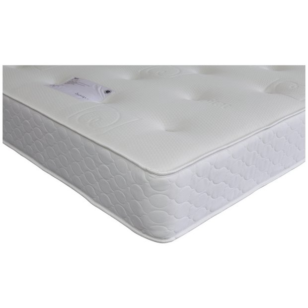 Buy habitat budd kingsize mattress at your for Online shopping for mattresses