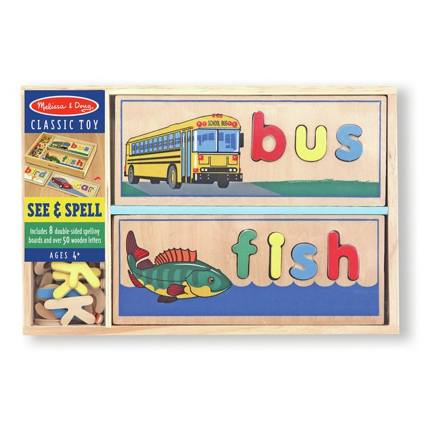buy melissa and doug see and spell at argoscouk your With melissa and doug see and spell replacement letters