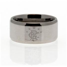 Stainless Steel Rangers Ring - Size R