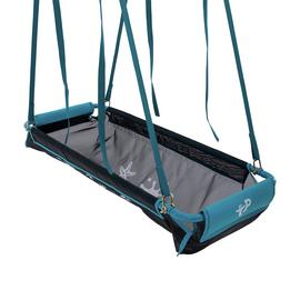 TP Kids Pirate Boat Double Garden Swing Seat - Blue