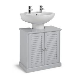 Argos Home Le Marais Louvered Under Sink Unit - Grey