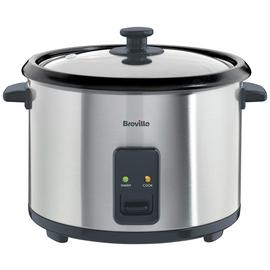 Breville ITP181 1.8L Rice Cooker and Steamer - St/Steel
