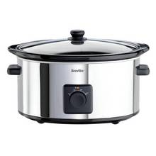 Breville ITP138 5.5L Slow Cooker - Stainless Steel