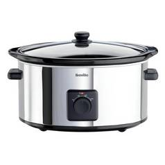Breville 5.5L Slow Cooker - Stainless Steel