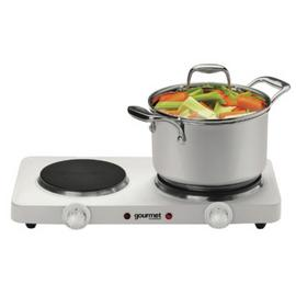 Gourmet (BY Sensiohome) 2500w White Double Boiling Ring
