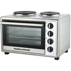Morphy Richards Convection Mini Oven with Hob - Silver
