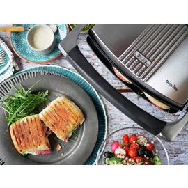 Breville VST025 Sandwich & Panini Press - Stainless Steel