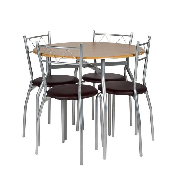 Buy Dining Table And Chairs Online: Buy Oslo Dining Table And 4 Chairs