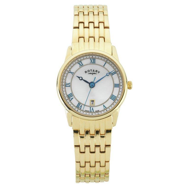 buy rotary l swiss gold bracelet at argos co uk