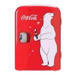 more details on Coke Mini Fridge With Bear.