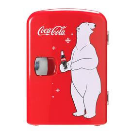 Coke Mini Fridge With Bear