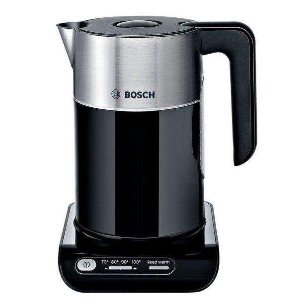 buy bosch styline twk8633gb kettle black at your online shop for kettles. Black Bedroom Furniture Sets. Home Design Ideas