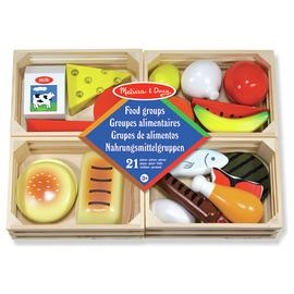 Melissa & Doug Food Groups Wooden Set