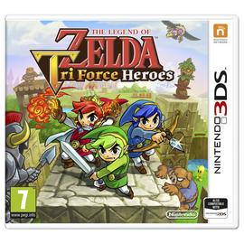 The Legend of Zelda Tri Force Heroes 3DS Game