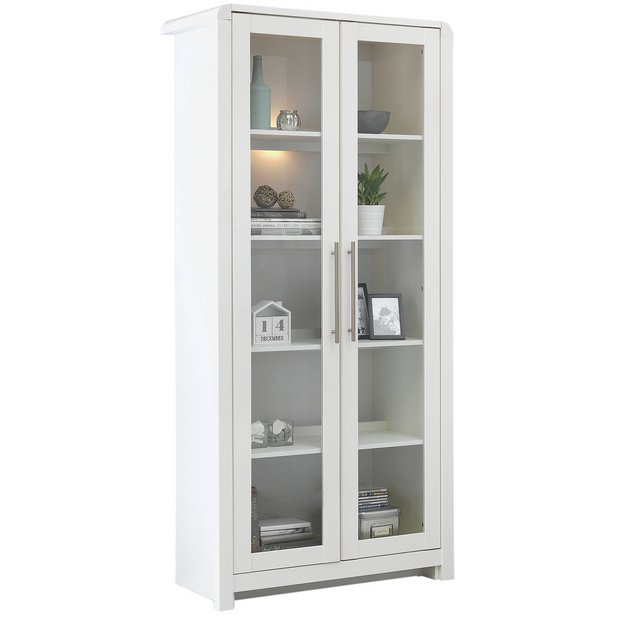 Heart Of House Elford Full Display Unit White At Argos Co Uk Your Online For Cabinets