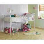 more details on HOME Lucas Mid Sleeper Bed Frame - White.