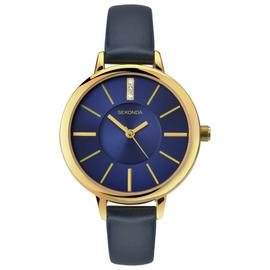 Sekonda Editions Ladies' Blue Strap Watch