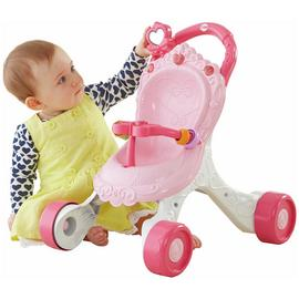 Fisher-Price Princess Mummy Stroll-Along Musical Walker