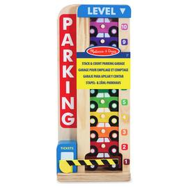 Melissa & Doug Stack and Count Parking Garage Playset