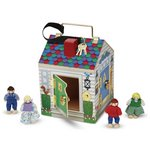 more details on Melissa and Doug Doorbell House.
