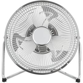 Challenge Chrome Tilting Desk Fan - 9 Inch