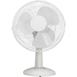Challenge White Desk Fan - 12 Inch