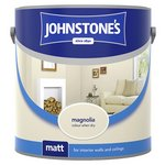 more details on Johnstone's Magnolia Matt Emulsion 2.5L.