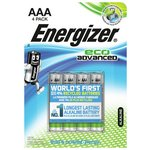 more details on Energizer Eco Advanced AAA Batteries - Pack of 4.