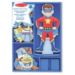 more details on Melissa and Doug Magnetic Wooden Dress Up Doll - Billy.