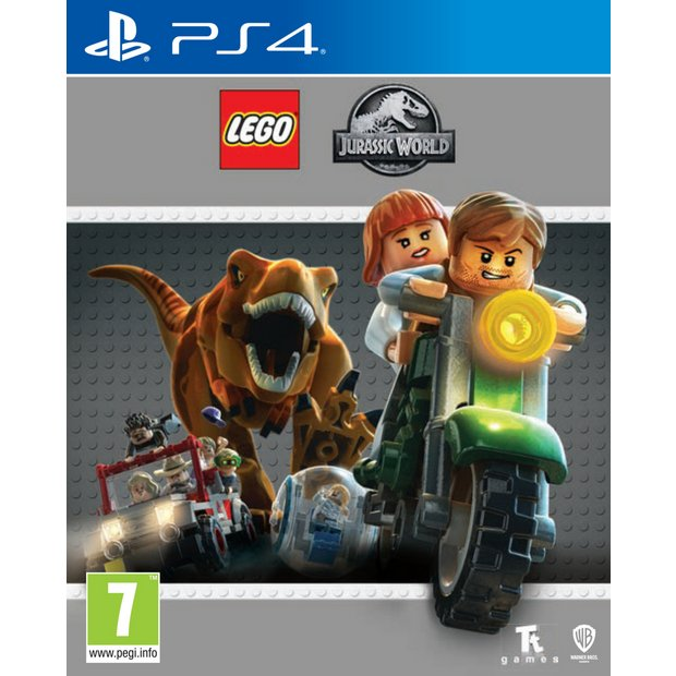 buy lego jurassic world ps4 game ps4 games argos
