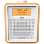 more details on Bush Wooden DAB Clock Radio