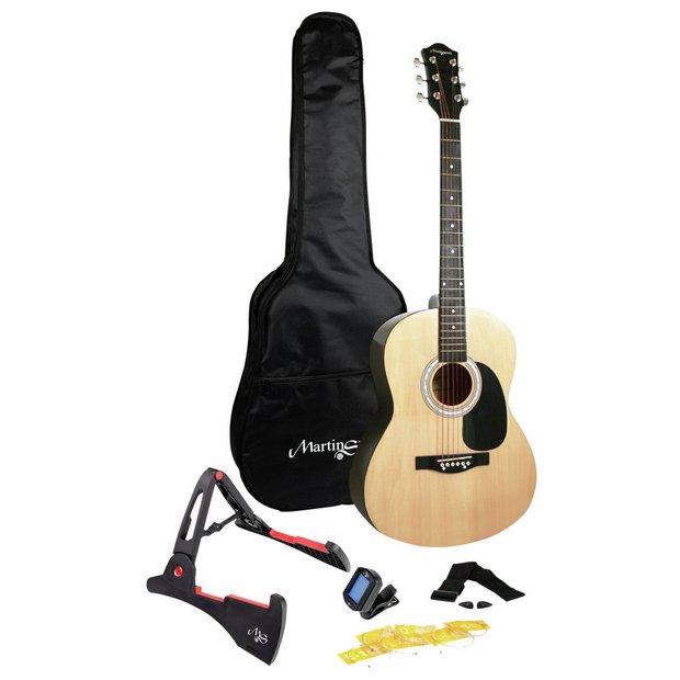 buy martin smith acoustic guitar acoustic guitars argos. Black Bedroom Furniture Sets. Home Design Ideas