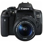 more details on Canon EOS 750D DSLR Camera with 18-55mm Lens