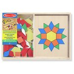 more details on Melissa and Doug Pattern Blocks and Boards.
