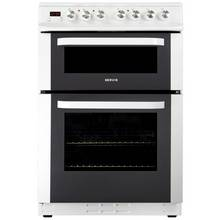 Servis DC60W Ceramic Double Electric Cooker - White