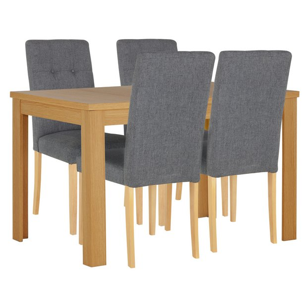 Argos Garden Dining Table And Chairs: Buy Collection Adaline Ext Dining Table & 4 Chairs
