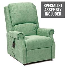 Chicago Riser Recliner Chair with Single Motor - Green