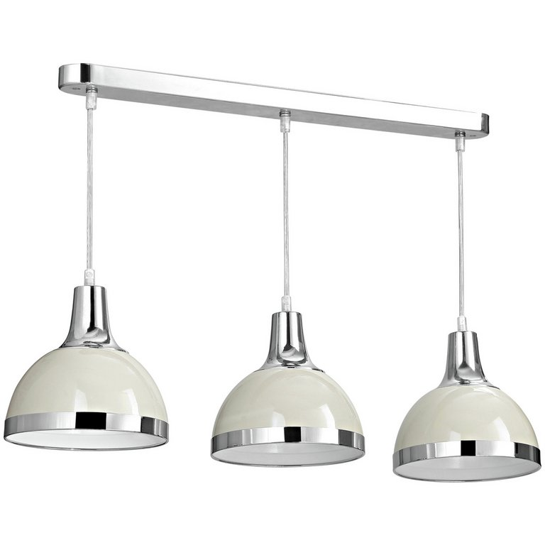Kitchen Track Pendant Lighting: Buy Vermont Pendant Light With Clay Shades At Argos.co.uk