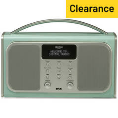Bush Bluetooth DAB Radio - Blue