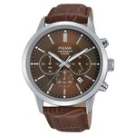 more details on Pulsar Men's Brown Strap Chronograph Watch.