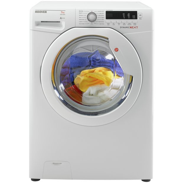 buy hoover dxc4e47w3 7kg 1400 washing machine white at. Black Bedroom Furniture Sets. Home Design Ideas