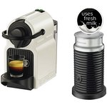 more details on Nespresso Inissia & Aeroccino 3 Coffee Machine - White