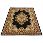 more details on Maestro Traditional Rug - 240x340cm - Black.